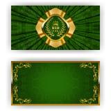 Elegant template for vip luxury invitation Royalty Free Stock Image