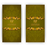 Elegant template for vip luxury invitation Royalty Free Stock Photography