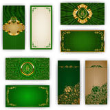 Elegant template for vip luxury invitation Royalty Free Stock Images