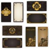 Elegant template for vip luxury invitation Stock Photography
