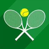 Elegant tennis design Royalty Free Stock Photo