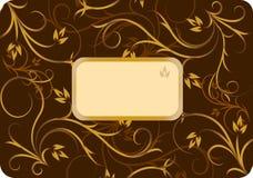Elegant text frame. Vector illustration Stock Photos