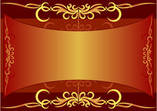 Elegant text frame. Vector illustration Royalty Free Stock Photos