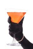 Elegant toast angle. Isolated on a white background Stock Image