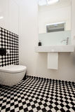 Elegant toilet Stock Foto