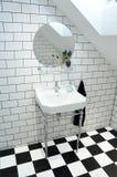 Elegant toilet royalty-vrije stock fotografie