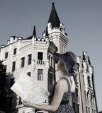The elegant tourist Royalty Free Stock Image