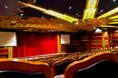Elegant traditional theatre hall Stock Photo