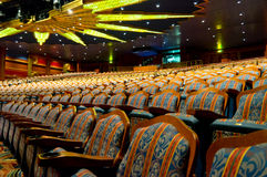 Elegant traditional theatre hall Royalty Free Stock Photography