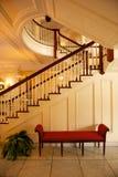 elegant trappuppgång Arkivbild