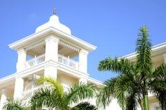 Elegant tropical resort Royalty Free Stock Photo