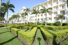 Elegant tropical resort Royalty Free Stock Image
