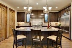 Elegant Upscale Kitchen stock photography