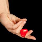 Elegant valentine heart Stock Images