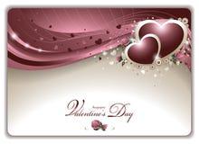 Elegant Valentine's Card stock illustration