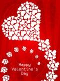 Elegant Valentine's Day background. Stock Photography