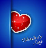 Elegant Valentine's Day background Stock Image