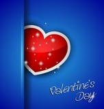 Elegant Valentine's Day background Stock Image