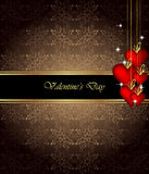 Elegant  valentine`s day background. Royalty Free Stock Images
