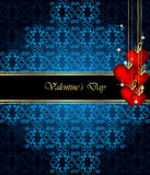 Elegant  valentine`s day background. Royalty Free Stock Image
