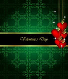 Elegant  valentine`s day background. Royalty Free Stock Photo