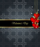 Elegant  valentine`s day background. Royalty Free Stock Photography
