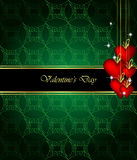 Elegant  valentine`s day background. Stock Photos