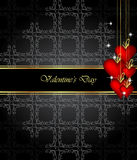 Elegant  valentine`s day background. Stock Photo