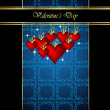 Elegant  valentine`s day background. Royalty Free Stock Photos