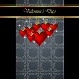 Elegant  valentine`s day background. Stock Photography