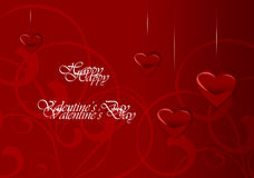 Elegant Valentine's Day Card Stock Images