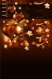 Elegant  Valentine's Day Flayer. For important invitation Royalty Free Stock Photos