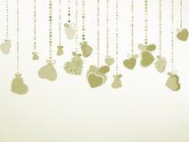 Elegant Valentine's or wedding illustration. EPS 8. Vector file included Royalty Free Stock Image
