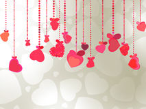 Elegant Valentine's or wedding illustration. EPS 8. Vector file included Royalty Free Stock Photo