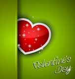 Elegant Valentines Day background Stock Photography
