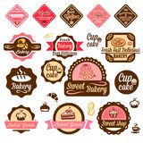 Baked goods design elements 1 Royalty Free Stock Photography