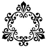 Elegant Vector Ornament in Classic Style Royalty Free Stock Images