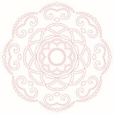 Elegant Vector Ornament in Classic Style Royalty Free Stock Photography