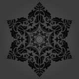 Elegant Vector Ornament in Classic Style Stock Image