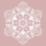 Elegant Vector Ornament in Classic Style Stock Photography