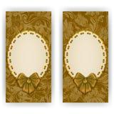 Elegant vector template for invitation, card Stock Photo