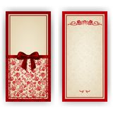 Elegant vector template for luxury invitation, royalty free stock images