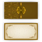 Elegant vector template for luxury invitation, Royalty Free Stock Photo