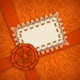 Elegant vector template for luxury invitation, Royalty Free Stock Photos
