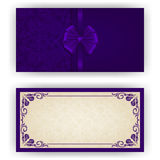 Elegant vector template for luxury invitation Royalty Free Stock Image