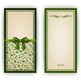 Elegant vectormalplaatje voor luxeuitnodiging, Stock Afbeeldingen