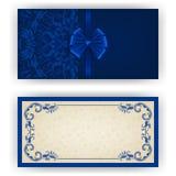 Elegant vectormalplaatje voor luxeuitnodiging, Royalty-vrije Stock Foto
