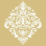 Elegant Vectorornament in Klassieke Stijl Stock Afbeelding