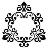 Elegant Vectorornament in Klassieke Stijl Royalty-vrije Stock Afbeeldingen