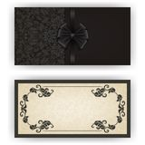 Elegant vektormall för lyxig inbjudan, Royaltyfri Fotografi